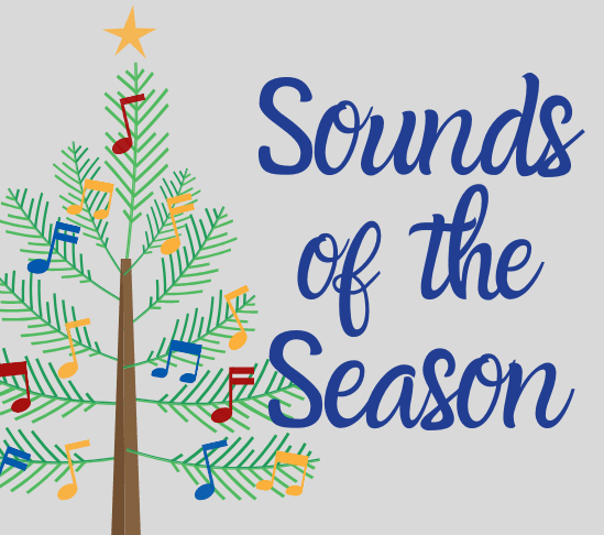 Sounds of the Season with christmas tree